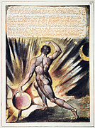 William Blake Art - Blake: Jerusalem, 1804 by Granger