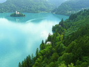 Slovenia Photos - Bled by Daniel Csoka