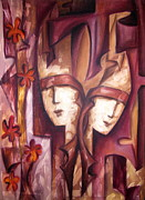 Creative Paintings - Blind Love by Romi Soni