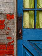 Blue Door Print by Skip Hunt