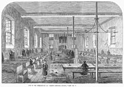 Dormitory Prints - Boarding School, 1862 Print by Granger
