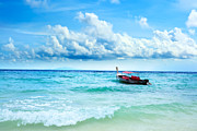 Bahamas Framed Prints - Boat Framed Print by MotHaiBaPhoto Prints