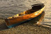 Beached Photos - Boat On Shore, Keswick, Cumbria, England by John Short