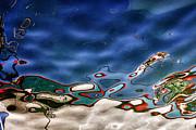 Boat Reflexion Print by Stylianos Kleanthous