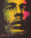 Bob Drawings - Bob Marley by Eric Dee