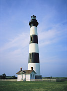 Of Buildings Framed Prints - Bodie Island Lighthouse, Part Framed Print by Vlad Kharitonov