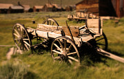 Wagon Photos - Bodie Wagon by Chris Brannen