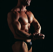 Body Builder Prints - Body Builder Print by Tony Mcconnell