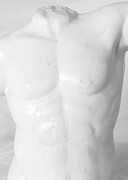 Marble Statue Sculpture Prints - Body Sculpture Print by Prasert Chiangsakul
