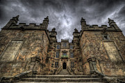 Storm Art Framed Prints - Bolsover Castle Framed Print by Yhun Suarez