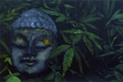 Peaceful Reliefs Metal Prints - Bong Shway Metal Print by Noble Richardson