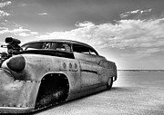 Hot Rod Photography Posters - Bonneville Salt Flats 2012 Poster by Holly Martin