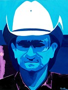 Bono Painting Posters - Bono Poster by Daniela Antar Power