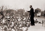 Slaves Photos - Booker T. Washington 1856-1915 by Everett