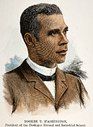 African-american Institute Photos - Booker T. Washington by Granger