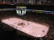Ice Photos - Boston Bruins by Juergen Roth