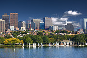 Charles River Art - Boston Skyline by Visions Of Our Land