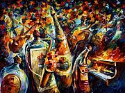 Afremov Art - Bottle Jazz by Leonid Afremov