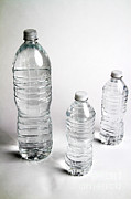 Bottled Metal Prints - Bottled Water Metal Print by Photo Researchers