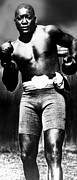 1910s Metal Prints - Boxer Jack Johnson, Ca. 1910s Metal Print by Everett