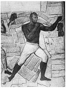 Boxing  Prints - Boxing: Thomas Molineaux Print by Granger