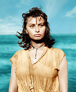 1957 Movies Photos - Boy On A Dolphin, Sophia Loren, 1957 by Everett