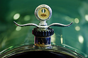 Boyce Motometer Framed Prints - Boyce Motometer Hood Ornament Framed Print by Jill Reger
