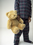 Insecurity Prints - Boys Teddy Bear Print by Ian Boddy