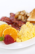 Pork Prints - Breakfast  Print by Elena Elisseeva