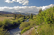 Mixed Media Photos - Breckenridge Colorado by James Steele