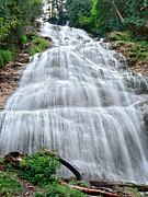 Flowing Wells Photos - Bridal Veil Falls by Sergey Korotkov