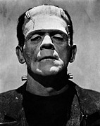 Horror Fantasy Movies Photos - Bride Of Frankenstein, Boris Karloff by Everett