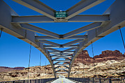 Slickrock Framed Prints - Bridge across Colorado Framed Print by Scotts Scapes