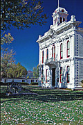 Bridgeport California Prints - Bridgeport city Hall Print by Gary Brandes