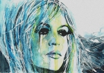 Singer Painting Prints - Brigitte Bardot Print by Paul Lovering