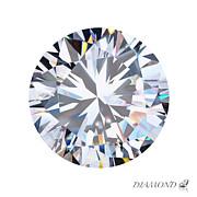 Brilliant Diamond Print by Setsiri Silapasuwanchai