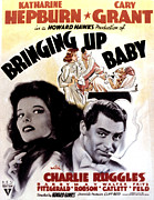 Bringing Framed Prints - Bringing Up Baby, Katharine Hepburn Framed Print by Everett