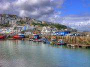 Pleasure Photos - Brixham Harbour by Mike Lester