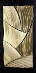 Textured Sculpture Prints - Broken Gold Print by Rick Roth