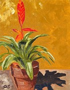 Maria Soto Robbins Art - Bromeliad Vriesea by Maria Soto Robbins