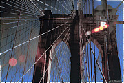 Brooklynbridge Prints - Brooklyn Bound Print by Eileen Mandell
