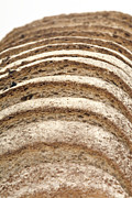 Sliced Bread Prints - Brown Bread Print by Courtesy Of Crown Copyright Fera