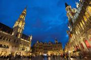 Colour-image Prints - Brussels, Belgium Print by Axiom Photographic
