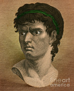 Brutus Posters - Brutus, Roman Politician Poster by Photo Researchers