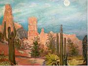 Dusk Drawings Framed Prints - Bryce Canyon Framed Print by Hal Newhouser
