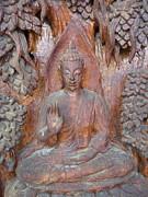 Buddha Image  Print by Panyanon Hankhampa