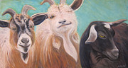 Buddies Paintings - Buddies 2 by Rebecca Gottesman