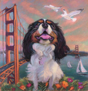 San Francisco Pastels - Buddy by Jane Oriel