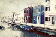 Abandoned Boats Prints - Burano Print by Joana Kruse