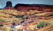 New Mexico Originals - Butte and Mesa by Donald Maier